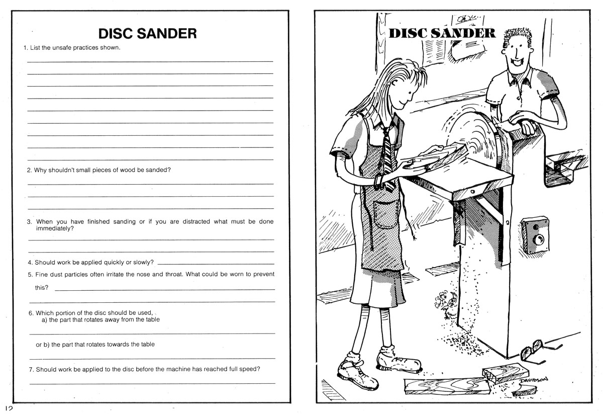 Safety In The Workplace Worksheet