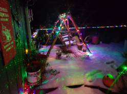 deck night snow
