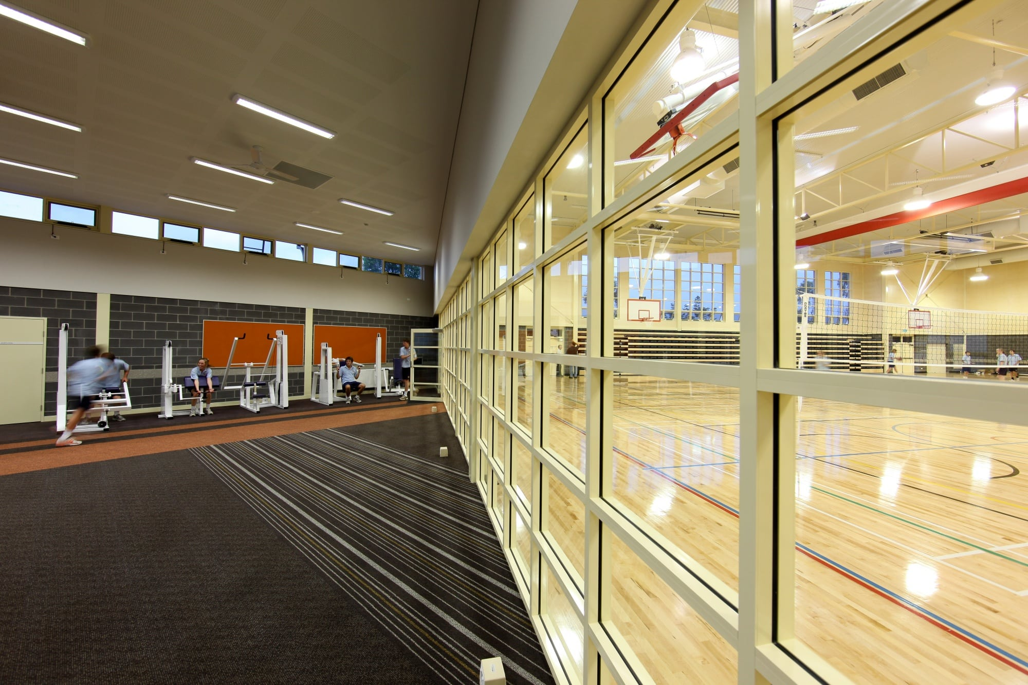 The Scots School Albury - Internal Glazing