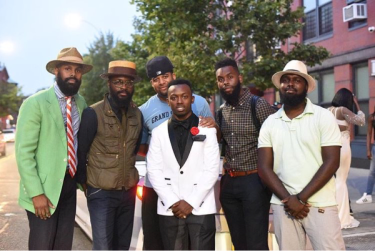 Bearded Dapper Gents with Young Man
