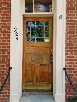 first library door