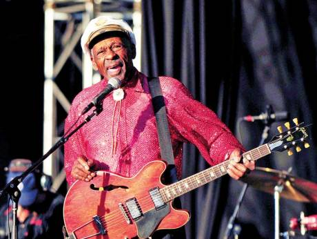 chuck berry at 90