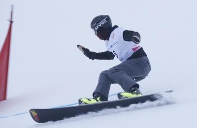 Slalom na snouborde