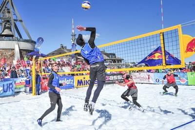 Voleibol na snegu 2