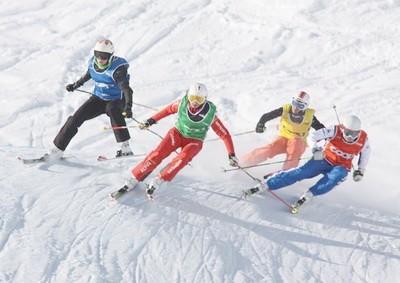 Ски-кросс. Трассы и соревнования. Особенности и техника. Экипировка