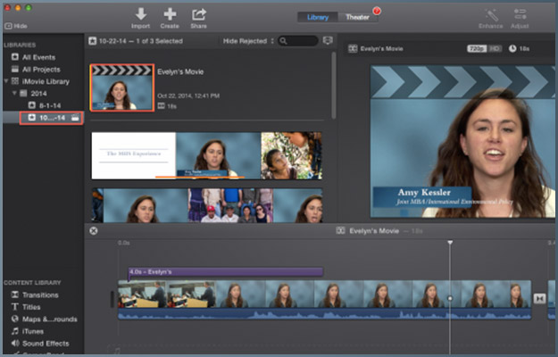 Tips on Using iMovie | Digital Learning & Inquiry (DLINQ)