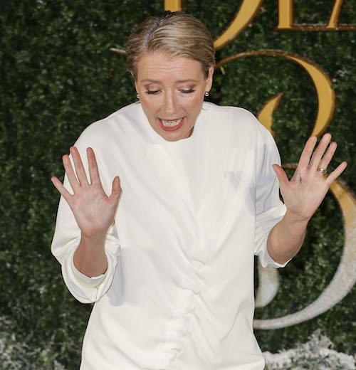 Emma Thompson ha minacciato una volta di smettere un film dopo i produttori ha chiesto ad unaltra attrice di perdere il peso