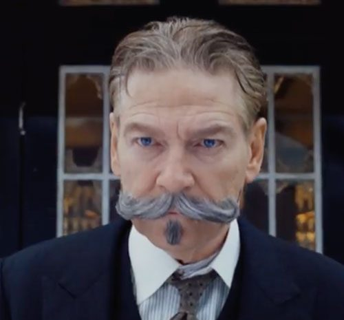 Image result for kenneth branagh hercule poirot mustache