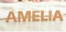 50cm High Individual Wooden Letters 1