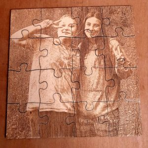 Engraved Wooden Photo Puzzle