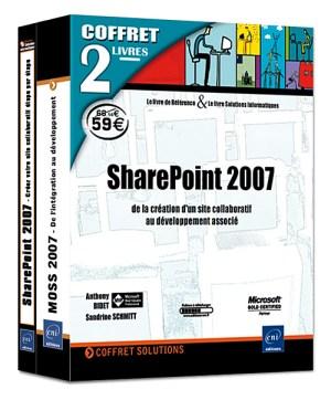 SharePoint 2007 Coffret de 2 livres