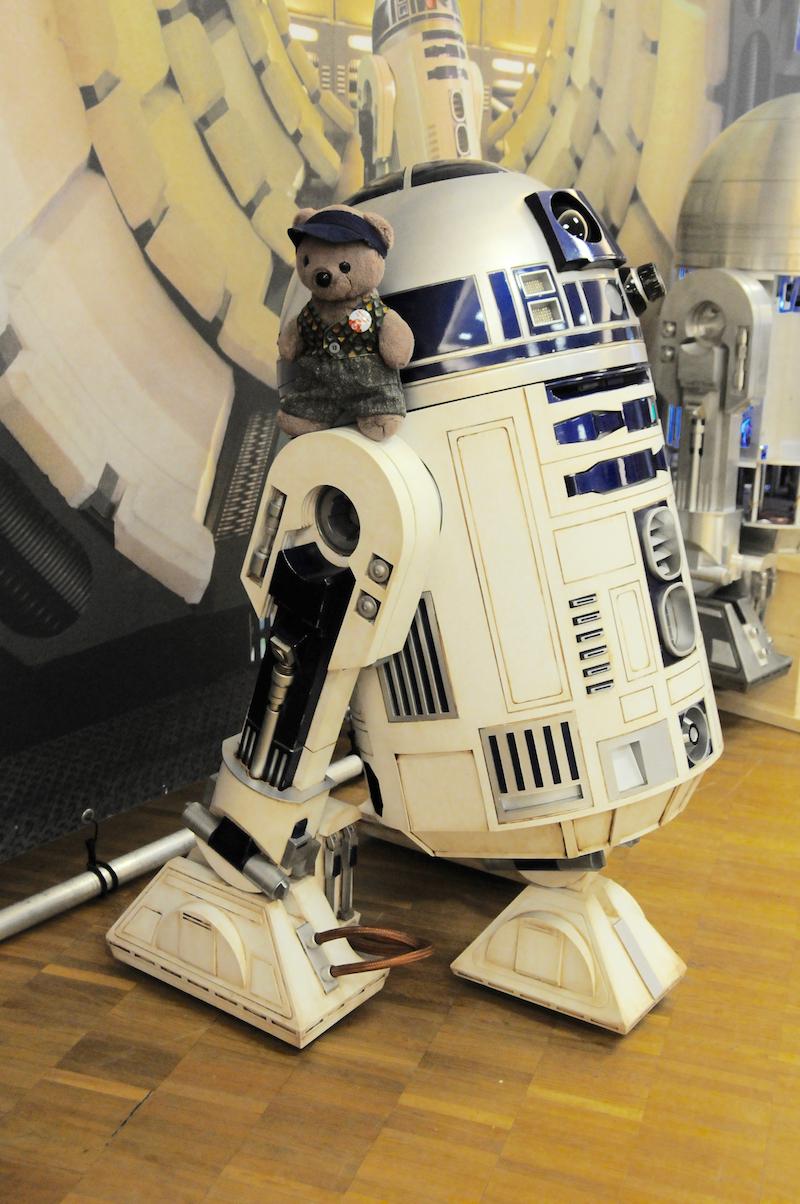 It's me on R2D2