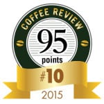 Coffee Review's No. 10 coffee of 2015