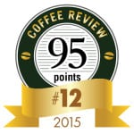 Coffee Review's No. 12 coffee of 2015