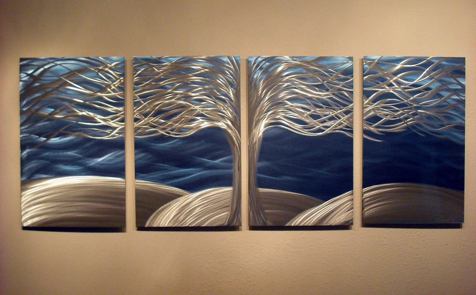 Tree Of Life- Metal Wall Art Abstract Contemporary Modern