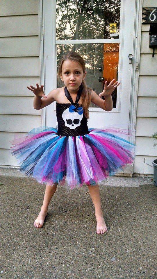 Monster High Tutu Dress Girls Monster High Dress Monster High Birthday Party Theme Costume Party Dress Monster High Sold By The Fluffy Tutu On Storenvy