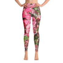 """Dainty Flowers"" - High rise Yoga Leggings medium photo"