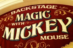 Backstage Magic with Mickey Mouse