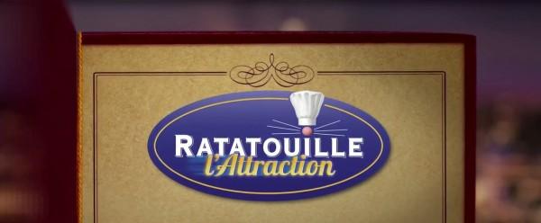 Ratatouille: L'Attraction Disneyland Paris Français trailer logo
