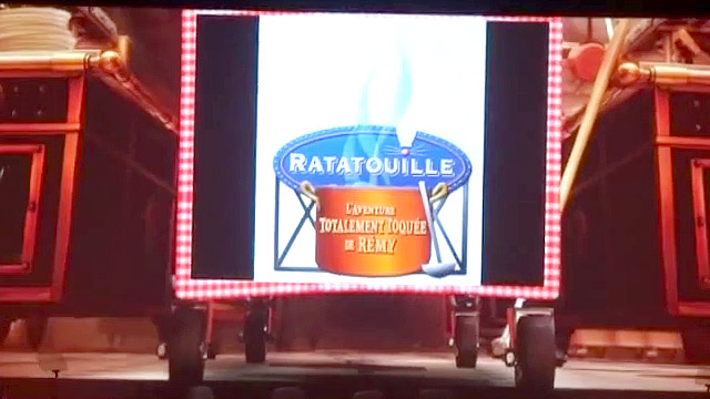 Ratatouille: The Ride - Tom Fitzgerland Walt Disney Imagineering - Disneyland Paris Entrance Marquee