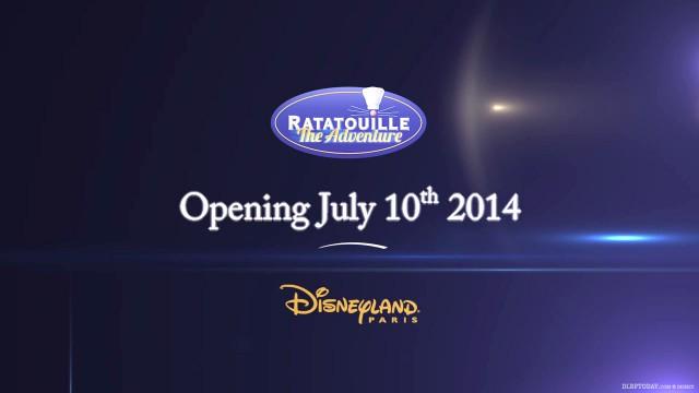 Disneyland Paris Ratatouille ride teaser preview video trailer