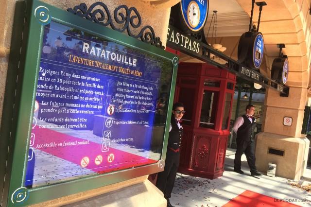 Ratatouille: The Adventure Grand Opening Dedication Ceremony at Disneyland Paris