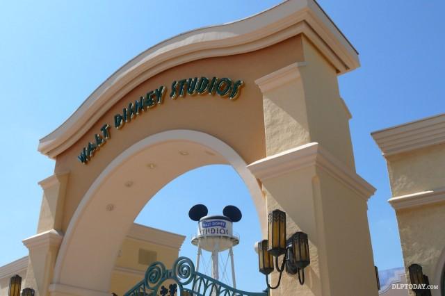 Earffel Tower getting new-look Walt Disney Studios logo design during refurbishment