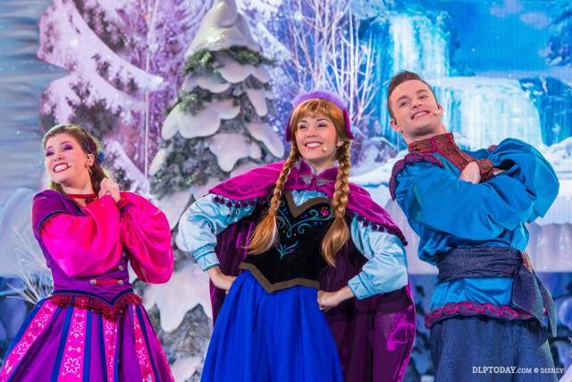 Frozen Sing-along, Frozen Summer Fun at Disneyland Paris