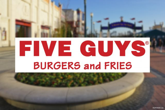Five Guys burgers and fries are coming to Disney Village in 2017
