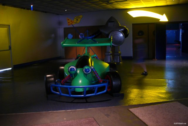 Buzz Lightyear's Pizza Planet in Discoveryland at Disneyland Paris