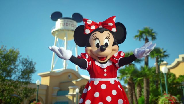 New Minnie Mouse character at Disneyland Paris