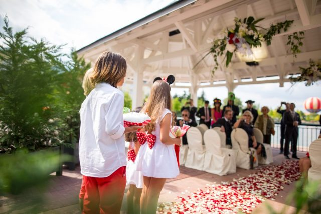 Married in the magic kingdom: Disneyland Paris weddings ceremonies, packages and collections