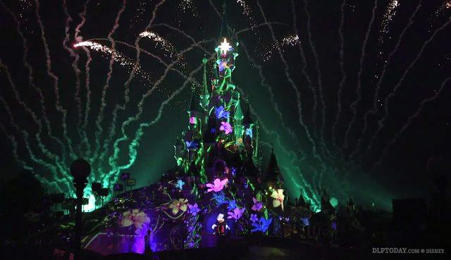 Disney Illuminations Disneyland Paris 25th Anniversary nighttime spectacular spectacle nocturne Ignite the Dream