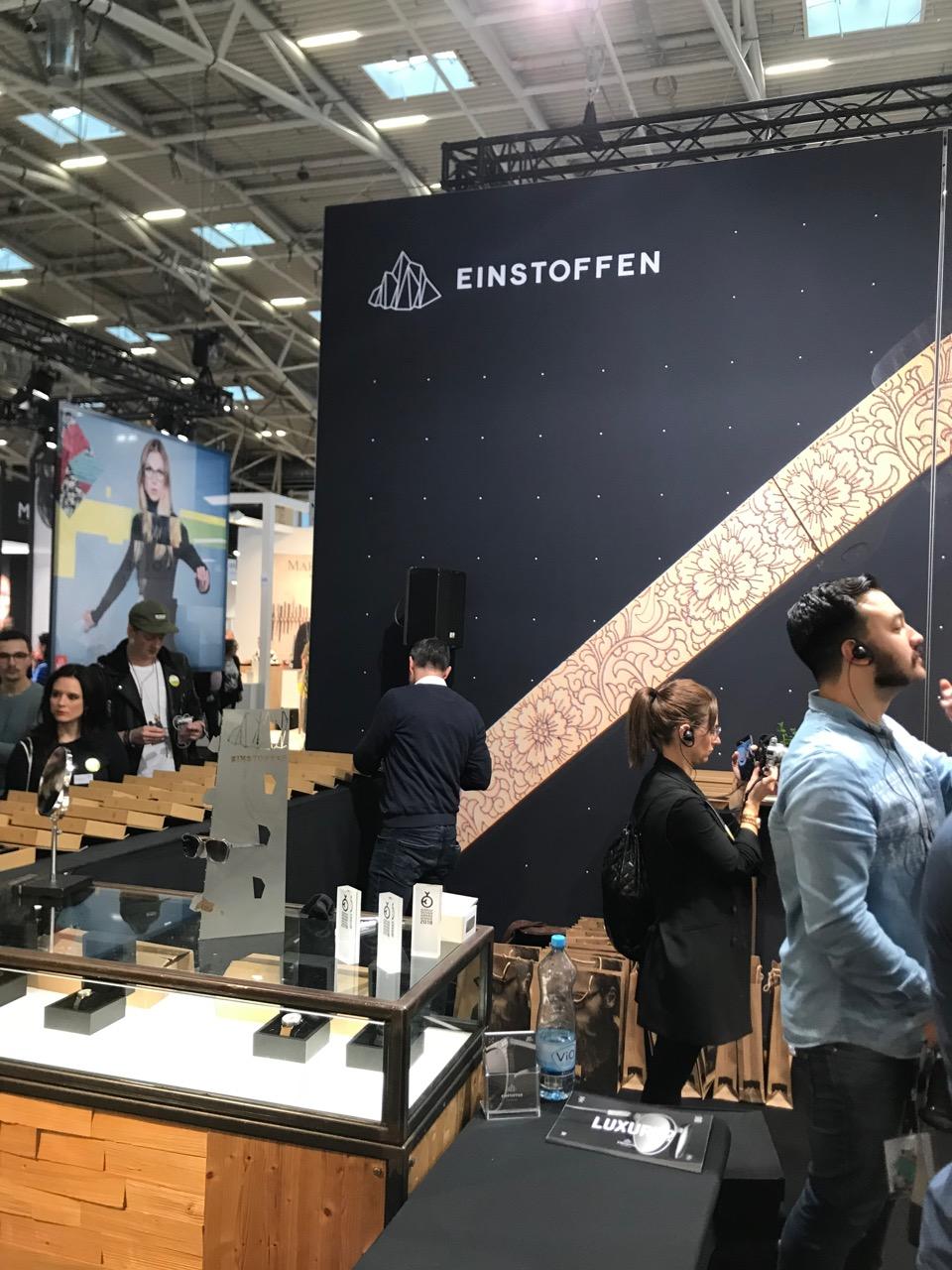 Einstoffen - opti 2018 München