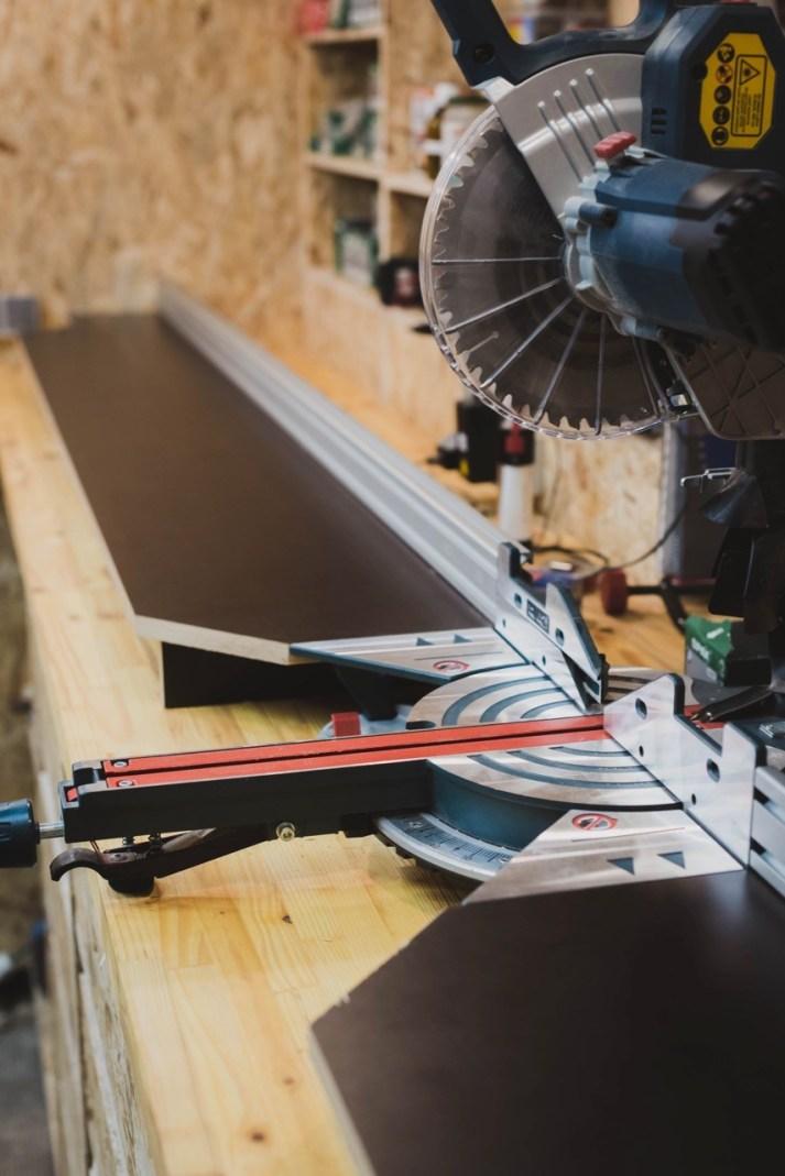 Kappsägestation für die Bosch Professional GCM 8 SJL Paneelsäge