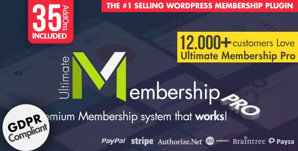 Download Ultimate Membership Pro WordPress Plugin v9.1