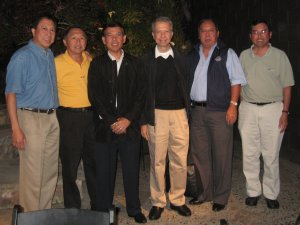 """<h3> Splash</h3>  Current and former DLSAANC presidents pose with visiting Br. Gus at the May 2009 monthly board meeting.  <a href=""""http://dlsaanc.org/splash/"""">DLSAANC Presidents</a>"""