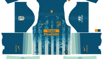 b48c95a95 Atletico Madrid Kits   Logo  2018-2019  Dream League Soccer