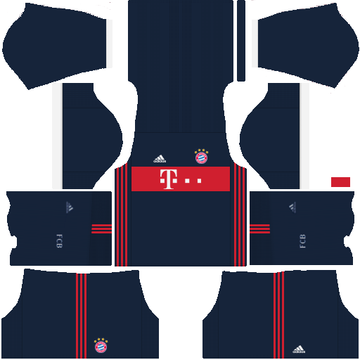 Bayern Munich Away Kit Dream League Soccer