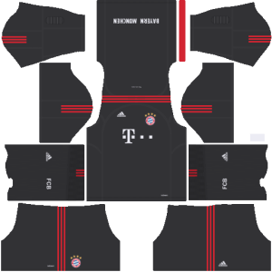Bayern Munich Goalkeeper Home Kit Dream League Soccer