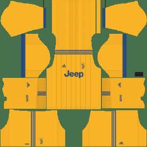 Juventus Away Kit Dream League Soccer 2017 - 2018