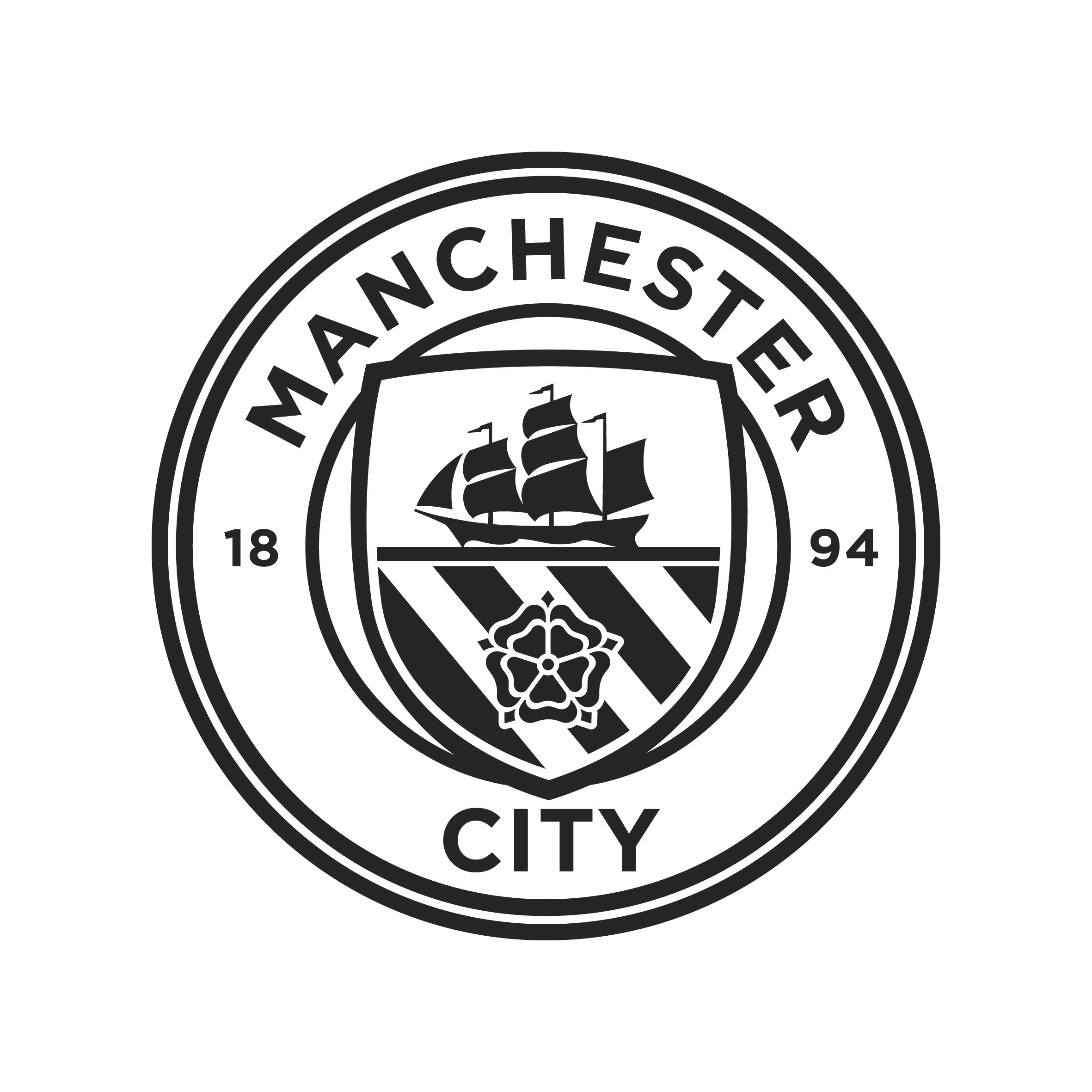 Manchester City Logo Dream League – Idea di immagine del club fc