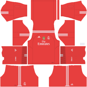 Real Madrid Away Kit 2017/2018 DLS
