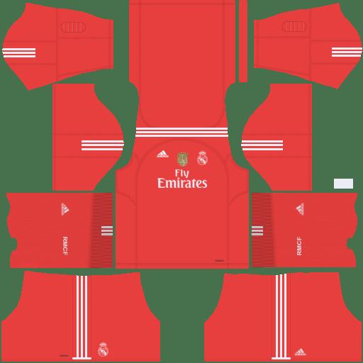 Real Madrid Away Kit 2017/2018 DLS