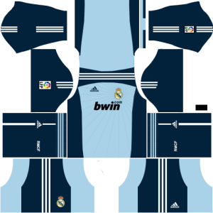Real Madrid Goalkeeper Away Kit 2010-2011