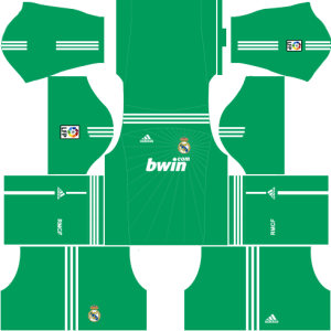 Real Madrid Goalkeeper Home Kit 2010-2011