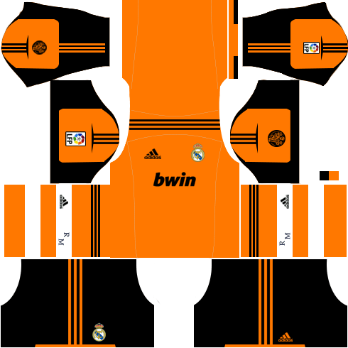 Real Madrid Goalkeeper Home Kit 2012-2013