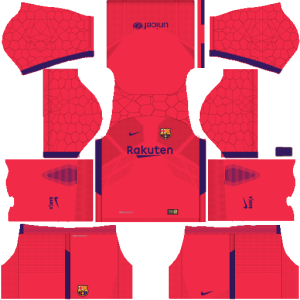 Barcelona Goalkeeper Home Kit Dream League Soccer
