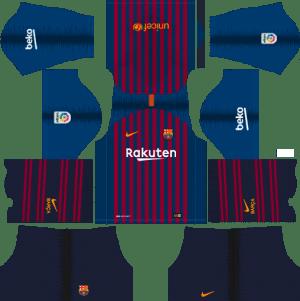 bd286cb6f Barcelona DLS Kits 2018-2019 dream soccer league