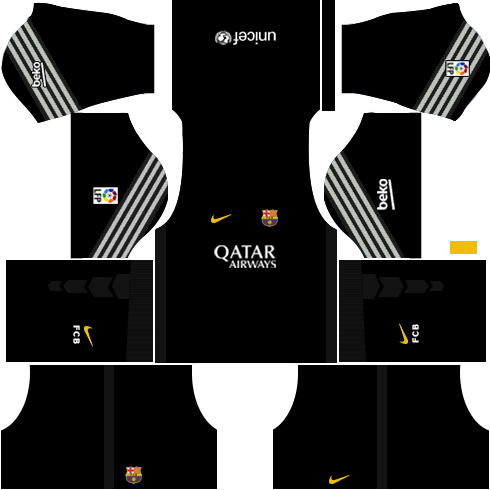 Barcelona Goalkeeper Away Kit 2015-2016